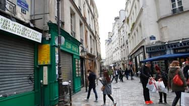 Le quartier du Marais est très prisé par les touristes.