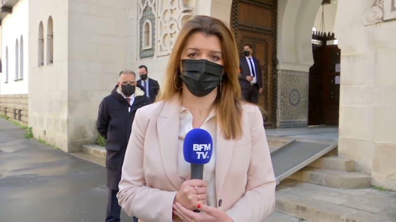 """Rennes: Marlène Schiappa dénonce """"des tags ignobles"""" et soutient l'ensemble des musulmans de France"""
