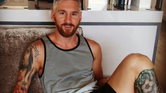 Lionel Messi est blond