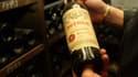 Une bouteille de château Petrus. (image d'illustration)