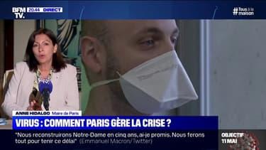 """Anne Hidalgo: """"Nous allons recevoir 500.000 masques qui seront distribués aux personnes les plus à risques"""""""