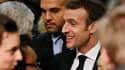 Emmanuel Macron à Bourg-de-Péage, près de Valence, le 24 janvier 2019.