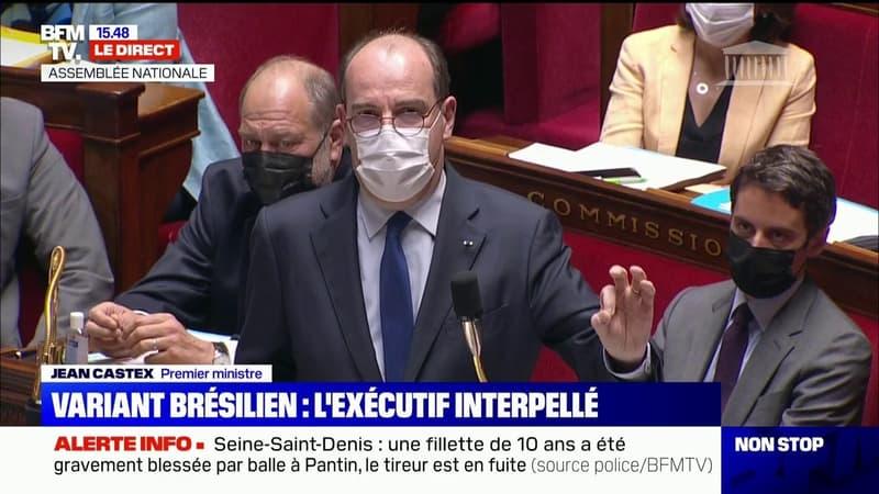 Jean Castex annonce la suspension de tous les vols entre le Brésil et la France