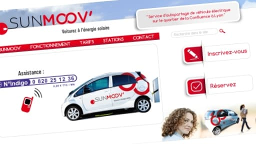 Le système SunMoov' a démarré mardi 15 octobre à Lyon.