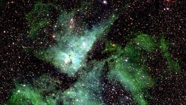 L'équipe d'astronomes menée par le professeur Rolf Chini a passé ces clichés au peigne fin pour y détecter des objets de luminosité variable.