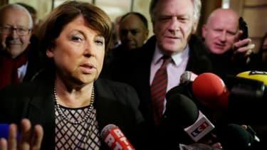 Martine Aubry a estimé que la mobilisation des salariés de La Redoute a porté ses fruits, et doit se poursuivre.
