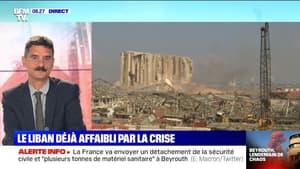 Le Liban déjà affaibli par une crise économique majeure avant les explosions