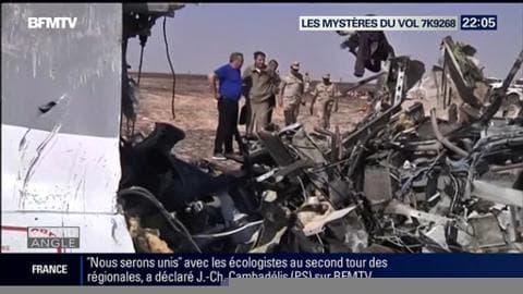 Les mystères planent sur le crash du vol 7K9268 de la compagnie Metrojet