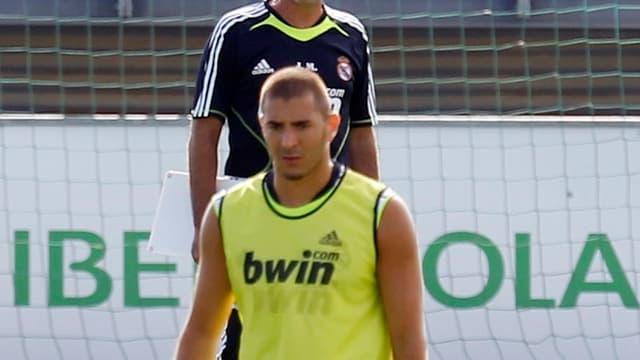 José Mourinho et Karim Benzema