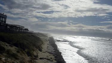 La plage de Lacanau-Océan est interdite pour plusieurs jours (illustration).
