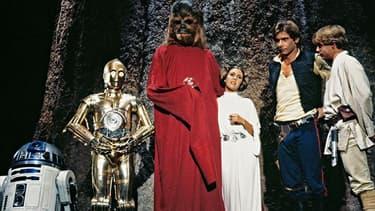 """Une image du mythique et tristement célèbre """"Star Wars Holiday Special"""""""