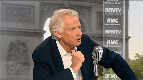 """""""Nous ne sommes pas de vraies démocraties"""", estime Villepin"""