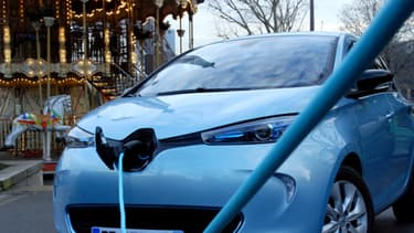 La Zoé est la première Renault née pour être exclusivement électrique.