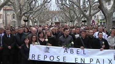 Manifestation en hommage à Abel Chennouf, l'une des victimes de Mohamed Merah.