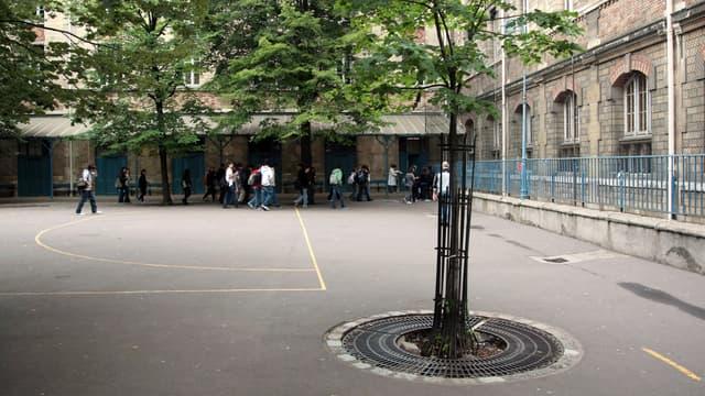 Une échauffourée a eu lieu devant un lycée de Brest (Photo d'illustration)