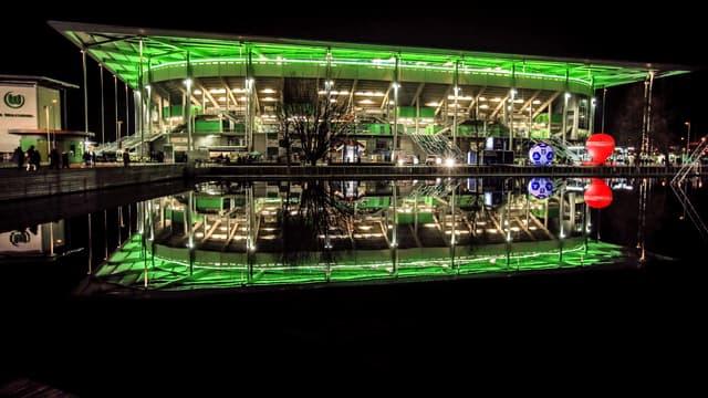 La Volkswagen Arena, à Wolfsbourg le 8 décembre 2015