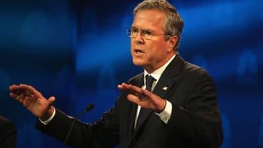 Jeb Bush et Marco Rubio, lors du troisième débat républicain, le 28 octobre.