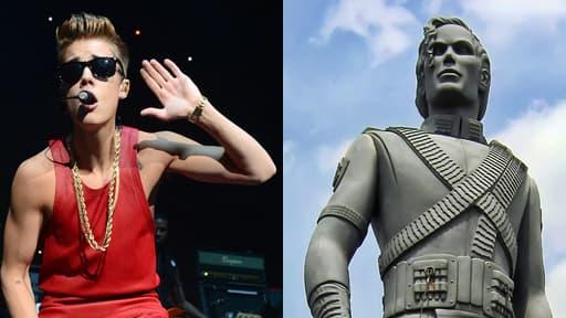 Justin Bieber affirme être fan de Michael Jackson