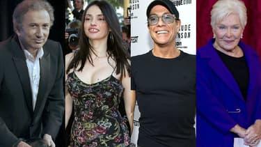 Michel Drucker, Béatrice Dalle, Jean-Claude Van Damme et Line Renaud au coeur de l'actualité cette semaine.