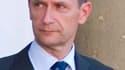 Frédéric Péchenard, directeur général de la police nationale. Le plus haut dirigeant de la police française a admis vendredi avoir ordonné l'espionnage d'un journaliste du Monde qui avait publié des articles sur une affaire sensible pour le pouvoir. /Phot