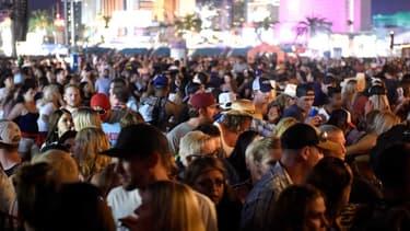Panique sur le Strip à Las Vegas.
