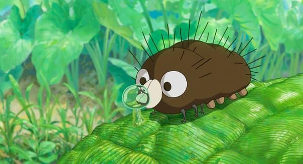 Boro la chenille de Miyazaki