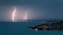 Des orages sur le lac Léman, le 30 juillet 2017. (Photo d'illustration)