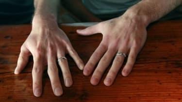 Les mariages gays représentent environ 1% des mariages.