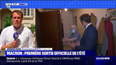 La première sortie officielle de l'été pour Emmanuel Macron à Toulon