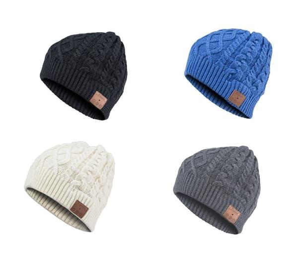 Ce bonnet permet de changer de musique tout en gardant la tête au chaud