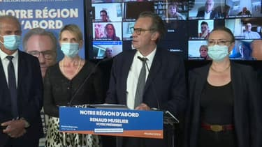 Renaud Muselier défend son choix d'inclure des membres de LaREM sur sa liste