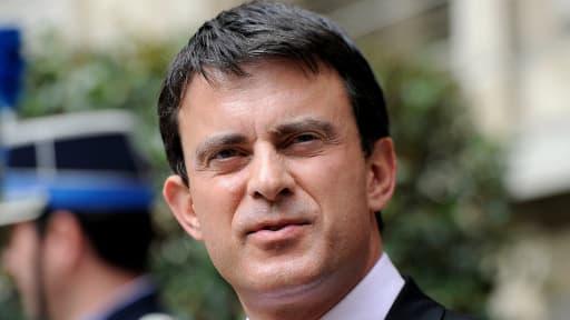 Le ministre de l'Intérieur Manuel Valls.