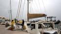 Le «Tribal Kat», catamaran des époux Colombo.