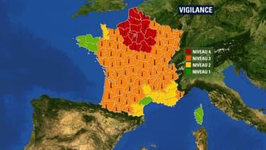 La vigilance rouge canicule a été enclenchée pour 20 départements ce mercredi.