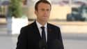 Emmanuel Macron à Nice, le 14 juillet 2017.