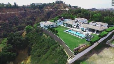 La villa appartenait avant à Jennifer Lopez.