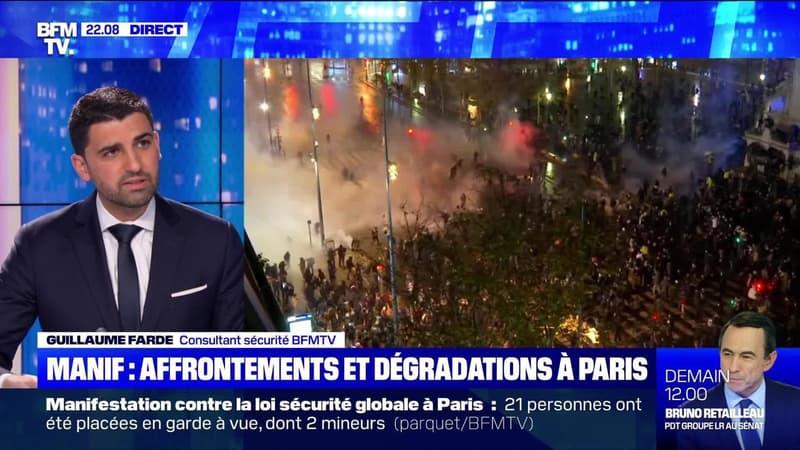 Manif: affrontements et dégradations à Paris - 05/12