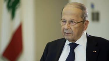 Le président libanais Michel Aoun