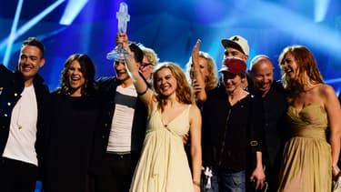La chanteuse danoise, Emmelie de Forest, a remporté l'Eurovision 2013.