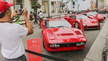 Les Ferrari, comme cette 288 GTO, font partie des supercars sur lesquelles la spéculation a été très importante des trois dernières années.