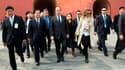 Après la visite privée de la Cité interdite à Pékin (photo), François Hollande effectuera vendredi une dernière série d'entretiens avec les dirigeants du nouveau gouvernement communiste. Il s'envolera ensuite en début d'après-midi pour Shanghai où il doit