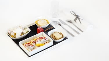 Jean Imbert, le vainqueur de Top Chef en 2012, fera profiter les passagers d'Air France de ses recettes.