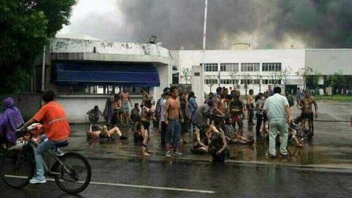 L'explosion est survenue dans un atelier de polissage d'enjoliveurs à Kunshan, selon les premiers éléments de l'enquête.