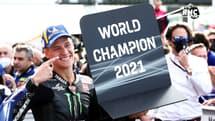 """MOTOGP : """"Quartararo champion du monde ? C'est du niveau de Cerdan et Prost"""" encense Moscato"""