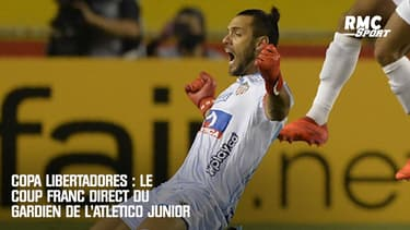 Copa Libertadores : Le coup franc direct du gardien de l'Atlético Junior