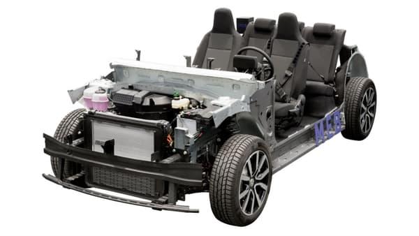 Le châssis de la future gamme ID.