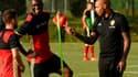 Dries Mertens, Christian Benteke et Thierry Henry