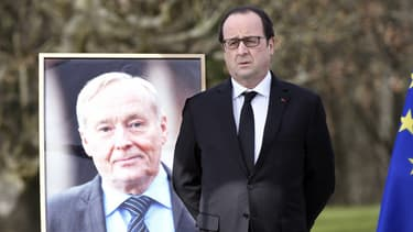 François Hollande a rendu hommage à Claude Dilain.