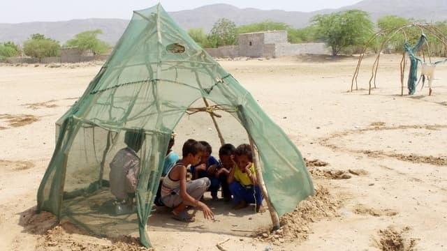 Des enfants à Hodeida.
