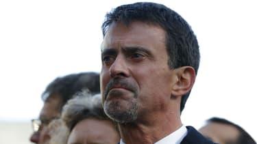 Manuel Valls lors des commémorations des attentats de Paris, le 13 novembre 2017 dans le 11e arrondissement de Paris